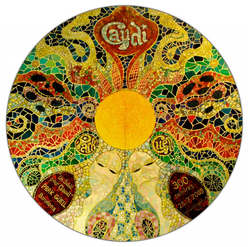 171 A Sun For Gaudi 187 Pierre Amoudry Graphic Designer